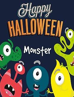 Monster: Happy Halloween: Coloring Book for Kids (Happy Halloween): 4