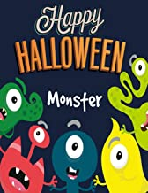 Monster: Happy Halloween: Coloring Book for Kids (Happy Halloween): 4