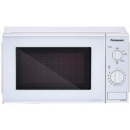 Panasonic 20L Solo Microwave Oven(NN-SM255WFDG,White)
