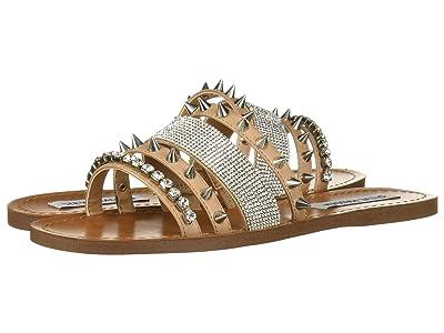 Steve Madden Lindy Flat Sandal (Natural Multi) Women