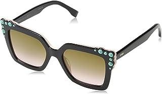 نظارات شمسية من فيندي باطار اسود 0260/S 53