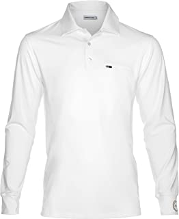 Aloha UV Men's UPF 50+ Sun Protection and Performance Long-Sleeve Shirt, White