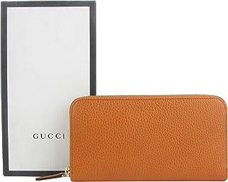 15d4d535cba9fc Gucci Zip Around Dark Orange Leather Long/Continental Wallet 363423 7614