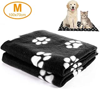 Hamkaw Warm Pet Blankets for Dog Cat, Washable Soft Pet Throw Blanket Sleep Mat Pad Bed Couch Car Seat Cover Furniture Protector for Kitten Puppy and Other Small Animals