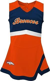 Outerstuff NFL Girls Kids & Youth Girls Cheer Captain Jumper Dress