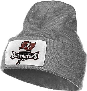 Tampa Bay Buccaneers Winter Warm Knit Cuff Beanie Skull Cap Daily Beanie for Men & Women,Black,