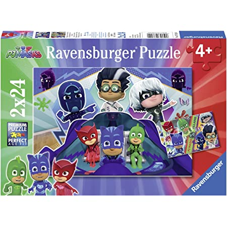 Trefl - Puzzle 3 en 1 modelo PJ Masks 20-36-50 piezas, 34840 ...