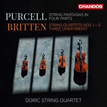 purcell fantasias for string quartet