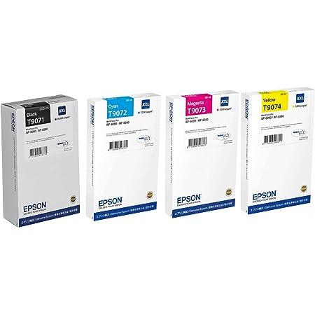 4x Original Xl Epson Tintenpatrone T9071 T9074 Für Elektronik