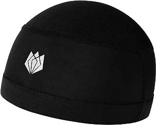 FitsT4 Football Helmet Liner Cooling Skull Cap Under Helmet Beanie Hat with UV Protection and Mesh Top for Men & Women