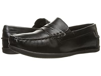 Florsheim Kids Jasper Driver Jr. (Toddler/Little Kid/Big Kid) (Black) Boys Shoes