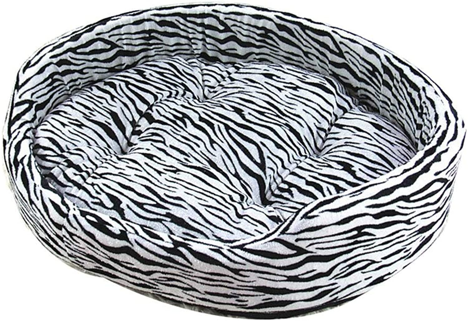 IRVING Round Cat and Dog Cushion Bed, Orthopedic Relief, SelfWarming and Cozy for Improved Sleep