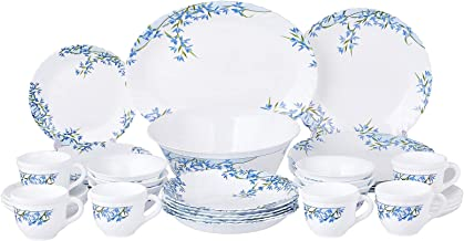 Arcopal DL7796 38 Pieces Dinnerware Set, White, Porcelain/Ceramic
