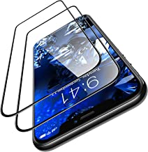 TORRAS Diamonds Hard iPhone 11 Pro Max Screen Protector [10X Military Grade Shatterproof][Bubble-Free][10s Easy Installation], Shockproof Tempered Glass Film Designed for Apple 6.5'' 2019-2 Pack