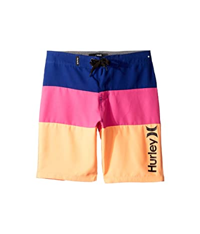 Hurley Kids Triple Threat Boardshorts (Big Kids) (Deep Royal Blue) Boy