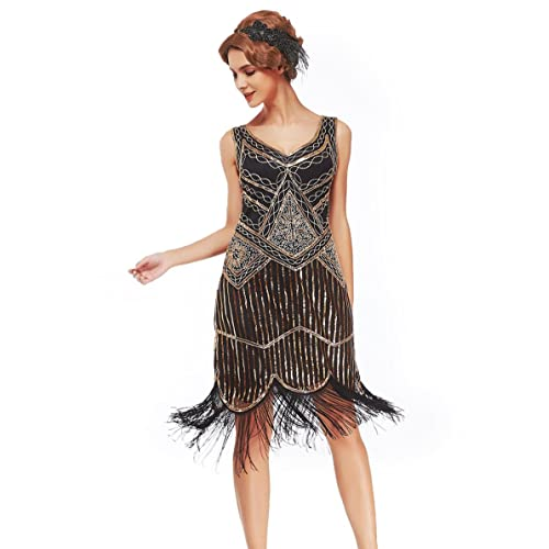 Beroemd Gatsby Dress: Amazon.com #OL76