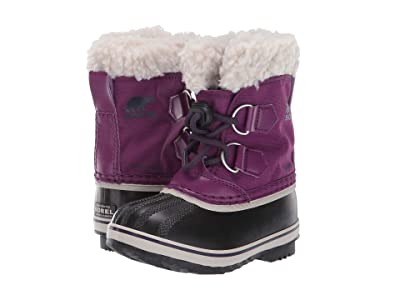 SOREL Kids Yoot Pac Nylon (Toddler/Little Kid) (Wild Iris/Dark Plum) Girls Shoes