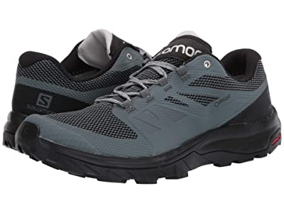 Salomon Outline GTX(r) (Stormy Weather/Black/Lunar Rock) Women