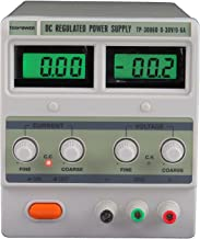 Tekpower DC Regulated Variable Power Supply, 0-30V & 0-6A, TP3006D