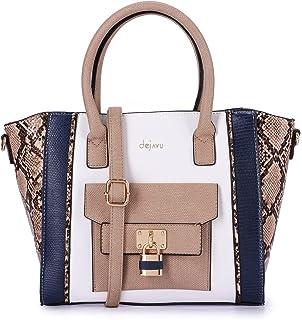 حقيبة يد شبه منحرف للنساء من ديجافو - جملي - مقاس واحد