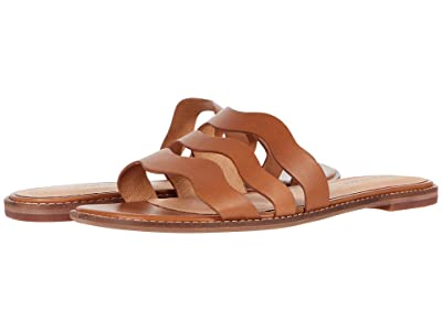 Madewell Joy Wavy Sandal in Leather