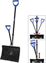 AAVIX AGT312 Snow Pusher/Shovel Ice Breaker with Two Ergonomic Handles, 18