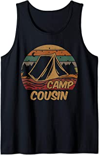Camping Gifts Camp Cousins Lovers Happy Camper Tank Top