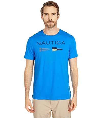 Nautica Nautica Flags Tee (Blue) Men