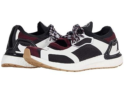adidas by Stella McCartney Ultraboost Sandal (Black/Maroon/Black) Women