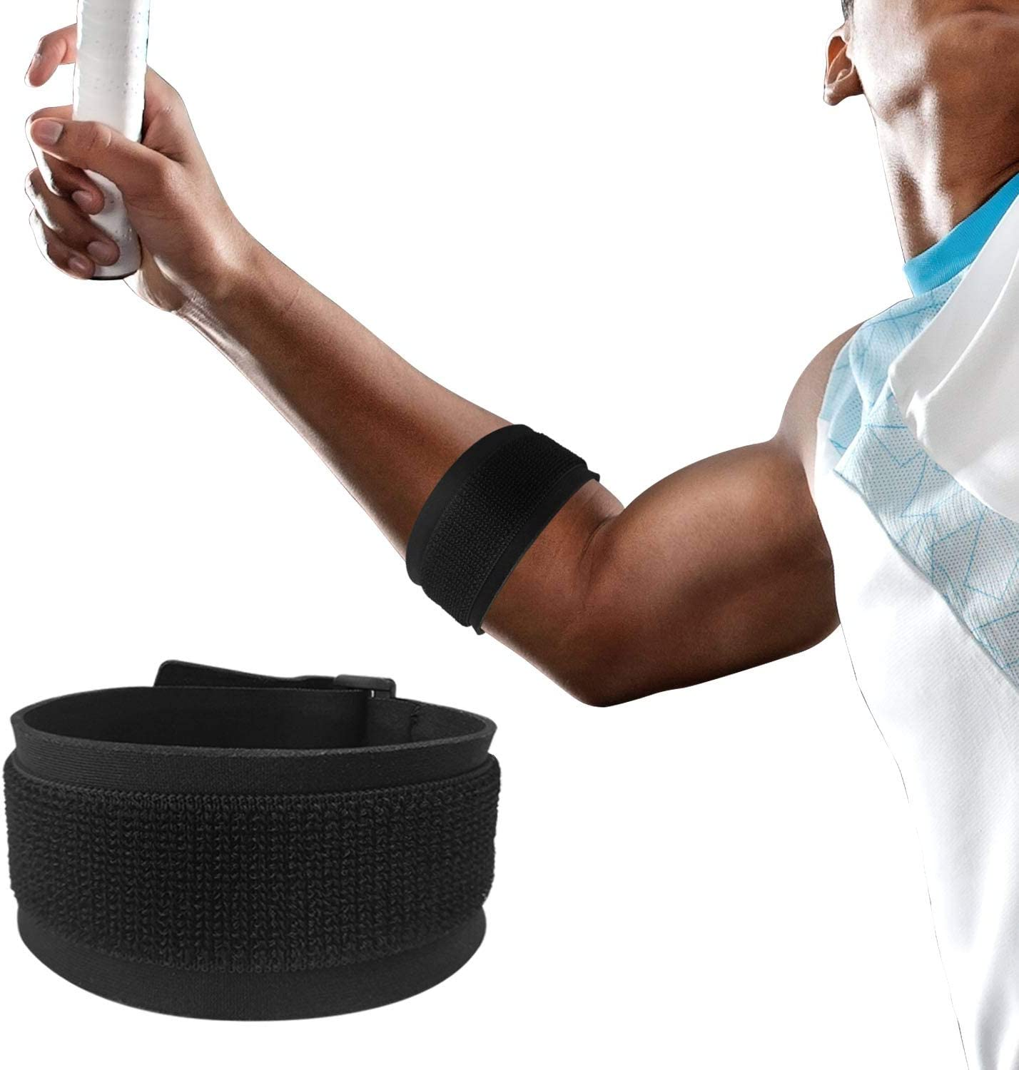 Elbow Brace - Regular store IFCASE Tennis Golfers Outlet sale feature Band Strap Fit Support