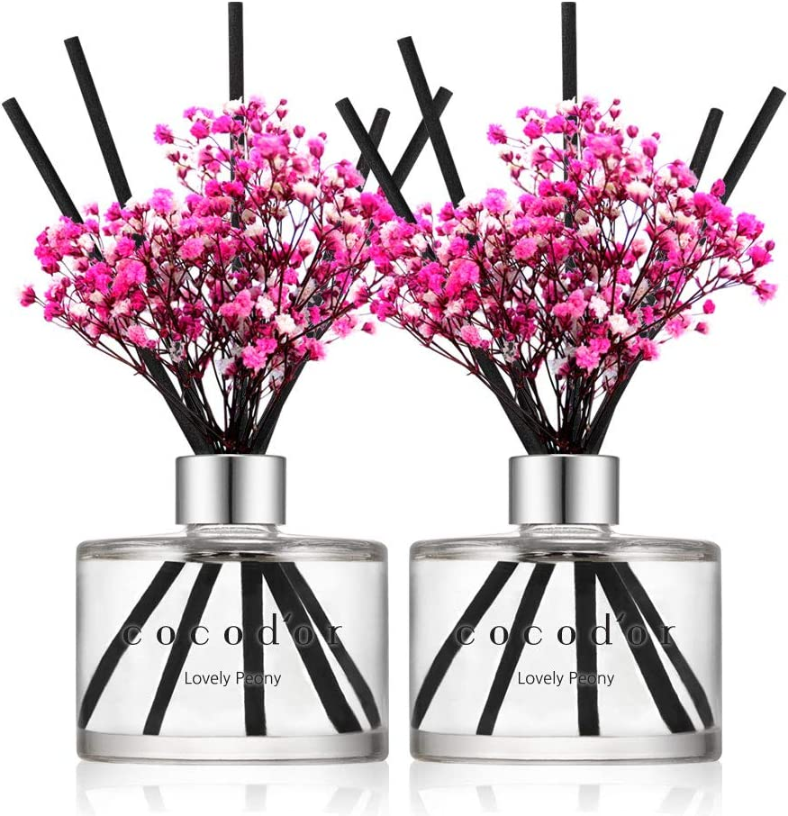 Cocodor Preserved Real Flower 40% OFF Cheap Sale Reed Peony Lovely Ranking TOP12 6.7 Diffuser