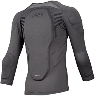 IXS Kid's Trigger Upper Body Protective Jersey - Grey - 482-510-6895-009-K