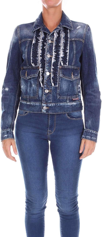 DSQUARED2 Women's S72AM0611S30309470 blueee Cotton Jacket