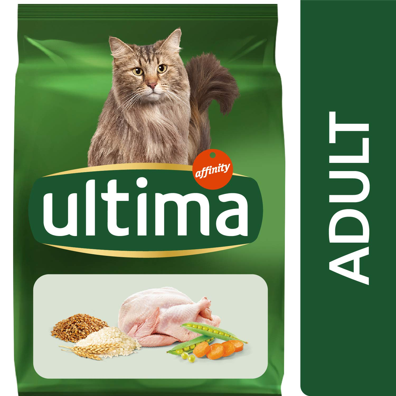 ultima II Pienso para Gatos Adultos con Pollo - Pack de 8 x 1,5 kg ...