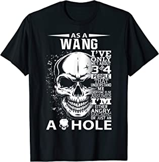 WANG Definition Personalized custom name loving kind T-Shirt