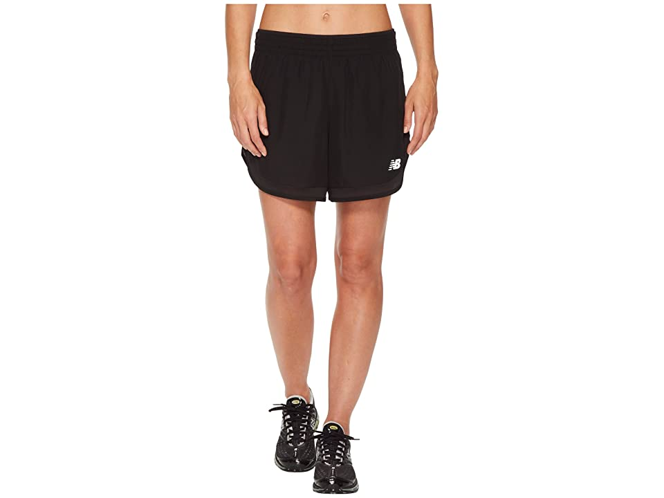 New Balance Accelerate 5 Shorts (Black) Women