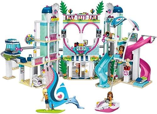BABIFIS Resort-Bereich, Puzzle Montage DIY Bausteine  pielzeug, Kinderspielzeug mädchen über 6 Jahre alt