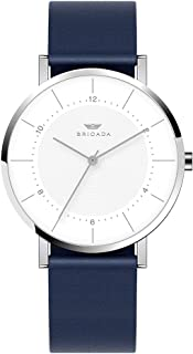 Relojes minimalistas de marca suiza para hombre, simples, ejecutivos, casuales, impermeables, de pulsera, de cuarzo