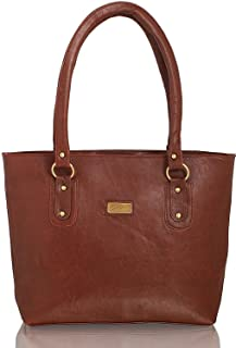 Bellina® Women's Handbag in Premium Leather (Bellina-311,Brown)