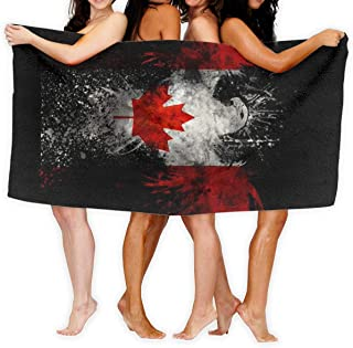 Canadian Flag Eagle Sport Towel - Travel Towels - 100% Microfiber - Gym - Beach - Surf - Camping - Backpacking- Ultra-Light - Fast Drying