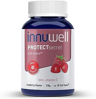 Innuwell PROTECTsecret - Contiene Zinc y Vitamina C - Vegano. halal. sin gelatina. sin gluten y 100% natural - Cont. 60 Soft Gums™