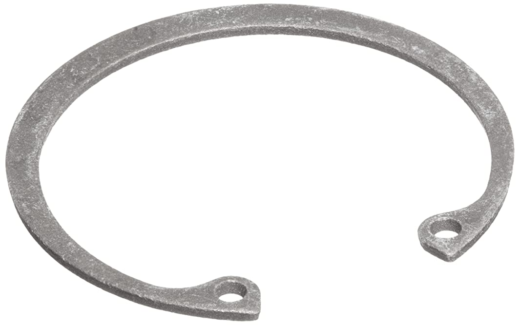 Standard Internal Retaining Ring, Tapered Section, SAE 1060-1090 Carbon Steel, Phosphate Finish, 1-1/8