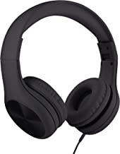 New! LilGadgets Connect+ PRO Kids Premium Volume Limited Wired Headphones with SharePort (Children) - Black