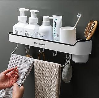 CGLOVEWYL étagère de Salle de Bain Murale shampooing étagères de Douche Support de Rangement Organisateur Porte-Serviettes...