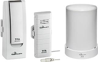 TFA Starterset con Temperatursender y Funk-Regenmesser WEATHERHUB