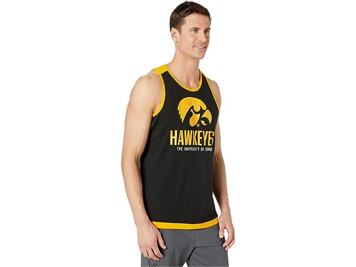 Tanque Moda Champion College Iowa Hawkeyes Field Day True Black/yellow Gold Shirts & Tops