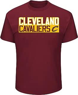 Lebron James Cleveland Cavaliers #23 NBA Men's Vertical Player T-shirt Garnet
