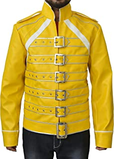 Best freddie mercury yellow jacket t shirt Reviews