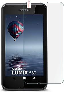 MoEx glasskyddsfolie för Nokia Lumia 530, 1x Stück, transparent