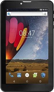 "IRA WiFi+Cellular Tab |8GB Memory|Android 6.0|1GB RAM|Dual SIM|2G/3G SIM|1.3 Ghz|3000 mAh|7"" HD Screen|2/0.3 MP Back/Front Camera|USB OTG|Screen Guard|Pouch|Ear Phone (IRA Tablet Black)"